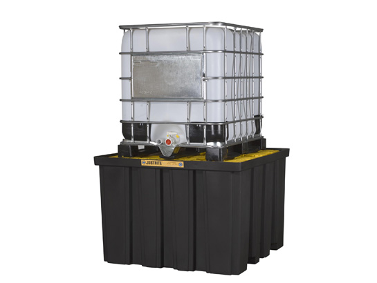 IBC Tote Container, Spill Pallet & Shed