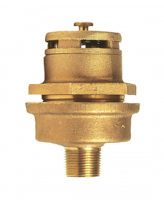 "Brass Vertical Vent Assembly For 3/4"" Bung"