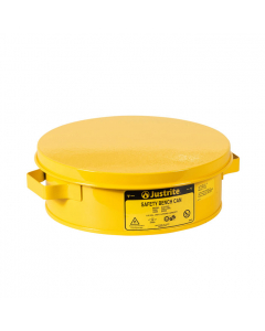 Bench Can to Clean Small Parts in Solvents, 2 Quart, Steel, Yellow - #10291