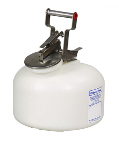Safety Container for corrosives/acids, Wide-mouth, 2 gallon, polyethylene, White - #12762