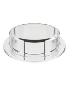 Adapter for Carboy Cap, 83mm, Closed, Clear - #12868