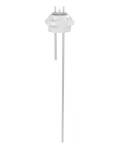 """Carboy Cap, 83mm, Open Top with Adapter w/Two 1/4"""" Molded-in Hose Barbs, w/27"""" tubing - #12887"""