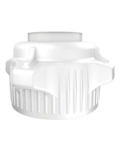Carboy Cap, 53mm, Open Top, Closed adapter - #12891