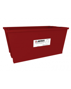 19.4 Gallon, Spill Basin for 40 or 60 Liter Carboys, Red, Plastic - 12957