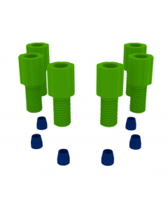 """1/16"""" OD Fittings for Carboy Adapters, 6-Pack - 12958"""