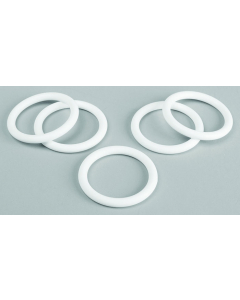 O-Rings for Carboys, Platinum-Cured Silicone, 53mm cap, 5 pack - #12959