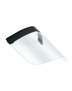 Protective Face Shield, Clear PVC, Pack of 20 - 15600