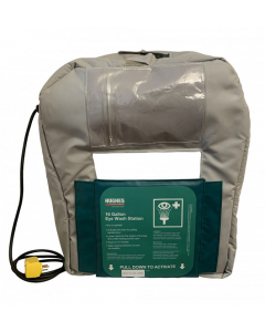 16-Gallon Gravity Fed Eyewash Heated Jacket 120V plug - #16GFEW-BLKT-HT