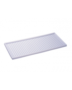 """18.563"""" D x 43.563 L Cabinet Top Tray for 30/40/45 and 17-Gallon Piggyback Safety Cabinets, Plastic - 25933"""