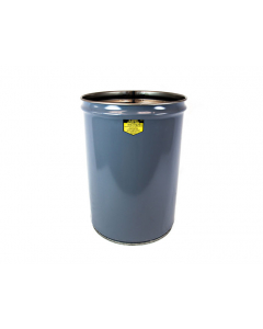 Cease-Fire® Waste Receptacle, Safety Drum Can Only, 12 Gallon, Gray - #26001