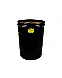 Cease-Fire® Waste Receptacle, Safety Drum Can Only, 6 gallon, Black - #26050K