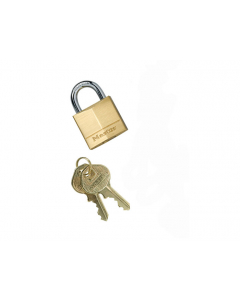 Brass Padlock for Outdoor Ashtray, Master Lock® No. 130, Anchoring Kit for Smoker's Ceasefire® Cigarette Receptacle - 268506