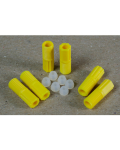 2.0mm OD Hard-Wall Tubing Compression Fittings With Ferrules for HPLC Poly Manifold, Package of 6 - 28121