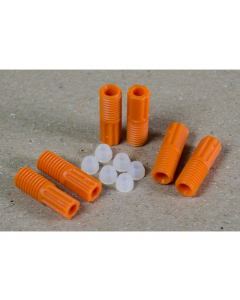 2.5mm OD Hard-Wall Tubing Compression Fittings With Ferrules for HPLC Poly Manifold, Package of 6 - 28122