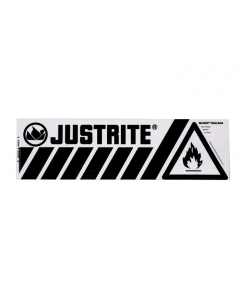 Bottom Flammable Band Label for Safety Cabinets, Small, Haz-Alert™ - 29005