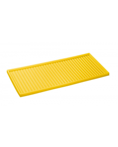 Yellow Cabinet Top Polyethylene Tray for 30, 40, and 45 gallon safety cabinets or 17 gallon Piggyback safety cabinets
