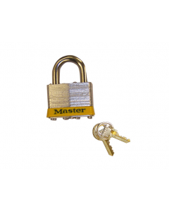 """Padlock Master Lock® No. 5 With 3/8"""" Shackle for Lockable Safety Cabinets - 29933"""