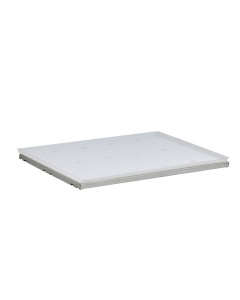 """31.56"""" W x 18"""" D Steel Shelf With Plastic Tray for 22 Gallon Undercounter Safety Cabinet, SpillSlope® - 29960"""
