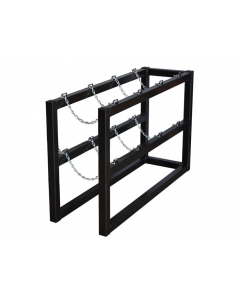 1W X 4D Gas Cylinder Barricade Rack | For 4 Cylinders  - #35096