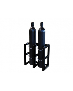 2W x 1D Gas Cylinder Storage Rack | For 2 Cylinders- #35100