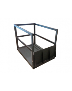 Gas Cylinder Pallet with Ramp for 14 Cylinders- #35216