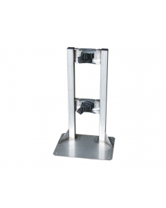 Stainless Steel Gas Cylinder Stand, 1 Cylinder Capacity - 35280