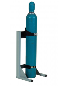 Steel Gas Cylinder Mobile Stand, 1 Cylinder Capacity - 35286