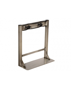 Stainless Steel Gas Cylinder Stand, 2 Cylinder Capacity - 35290