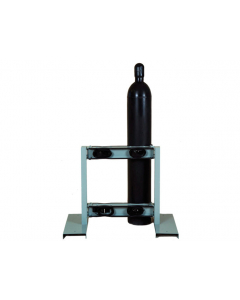 Steel Gas Cylinder Stand, 4 Cylinder Capacity, Back-to-Back - 35296