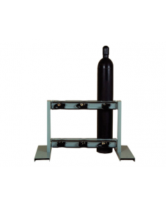 Steel Gas Cylinder Stand, 6 Cylinder Capacity, Back-to-Back - 35300