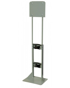 Steel Gas Cylinder Process Stand, 1 Cylinder Capacity - 35304