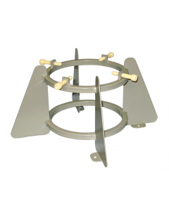 """Medical Oxygen Cylinder Stand, One 5.75 to 6.75"""" Diameter Cylinder Capacity - 35328"""