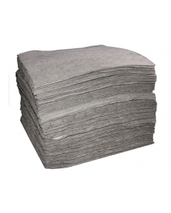 """15"""" x 18"""", Bonded Universal Absorbent Pads, Light Weight, Bagged, 200 Count - 83426"""