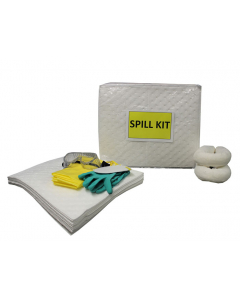 Oil Only Truck Kit With Oil-Only Pads, Socks, Disposal Bags, Gloves, Goggles and Mask - 83533