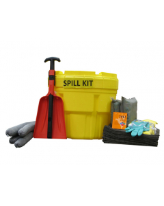 20 Gallon Universal Spill Kit With Absorbents and Emergency Cleanup Supplies - 83538