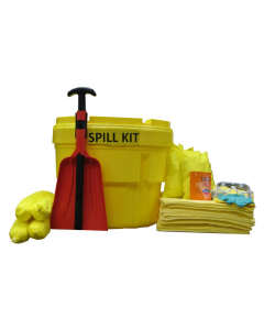 20 Gallon HazMat Spill Kit With Absorbents and Emergency Cleanup Supplies - 83540