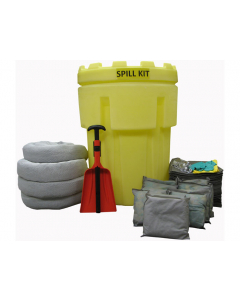 95 Gallon Universal Spill Kit With Absorbents and Emergency Cleanup Supplies - 83544