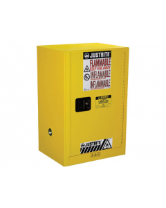 12 gallon Compac Flammable Safety Cabinet, 1 Manual Close Door - Sure-Grip® EX