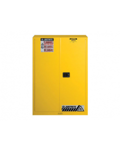 Sure-Grip® EX Flammable Safety Cabinet,  45 gallon,  2 manual-close doors, Yellow - #894500