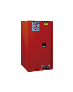 Sure-Grip® EX Combustibles Safety Cabinet for paint and ink, 96 gallon, 2 self-close doors, Red - #896031