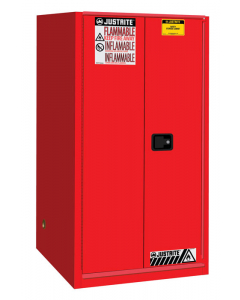 Sure-Grip® EX Flammable Safety Cabinet, 60 gallon, 1 bi-fold self-close door, Red - #896081