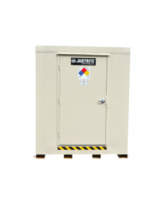 4-Hour Fire-Rated Outdoor Safety Locker, 4-Drum, Explosion Relief Panels - #913041