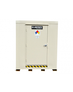 4-Hour Fire-Rated Outdoor Safety Locker, 6-Drum, Explosion Relief Panels - #913061