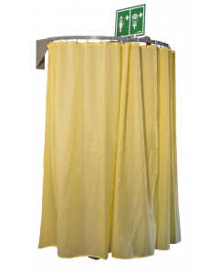 Hughes Safety Shower Modesty Curtain, Wall Mounted - #CURTAIN-WM