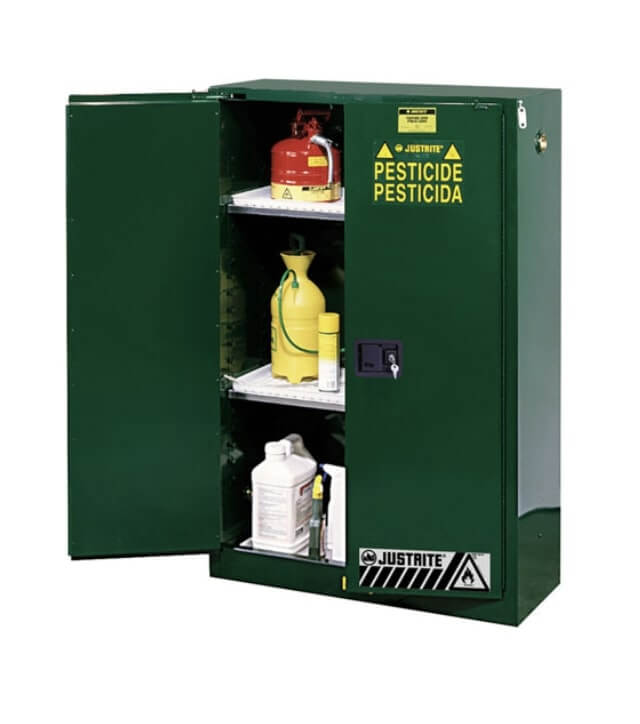 Pesticide and Insecticide Safety Cabinets