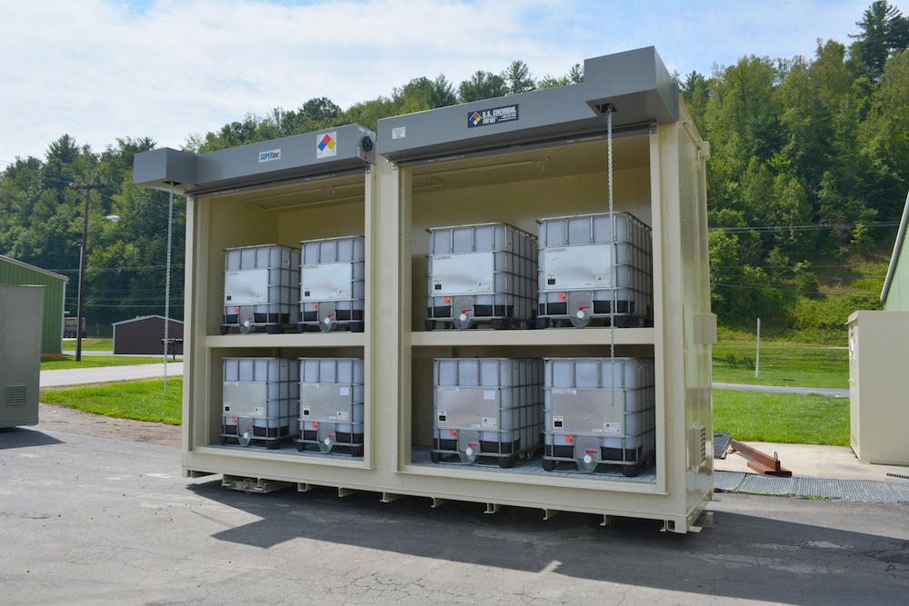 Chemical Storage Building Totes